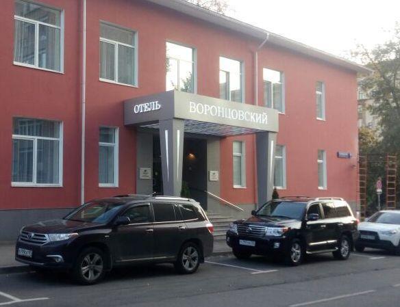 Изготовление входной группы для отеля Воронцовский компанией Импульс.