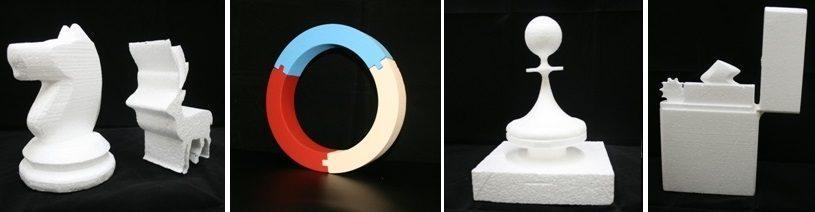 Изготовление различных фигур из пенопласта - РПК Импульс.