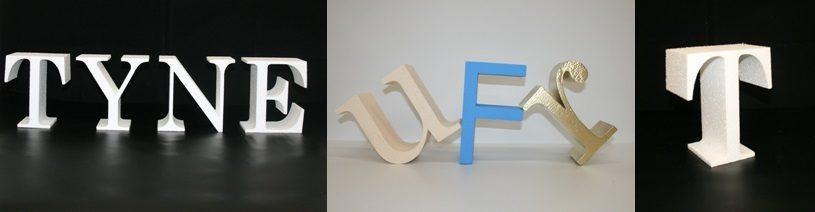 буквы из пенопласта стандартных размеров в наличии.