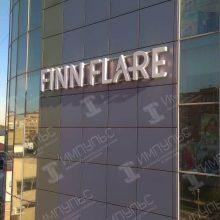 Объемные буквы для магазина Finn Flare