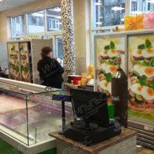 Брендирование магазина Русская Птица
