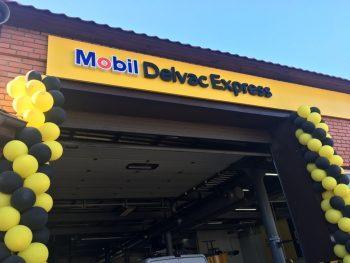 Изготовление наружной рекламы для Mobil 1