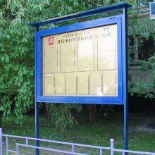 Изготовление уличного стенда информации - РПК Импульс.