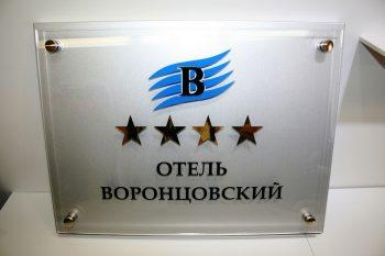 Изготовление наружной рекламы для отеля Воронцовский