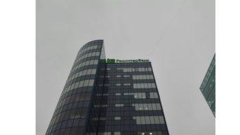 Крышная установка для РосинтерБанк